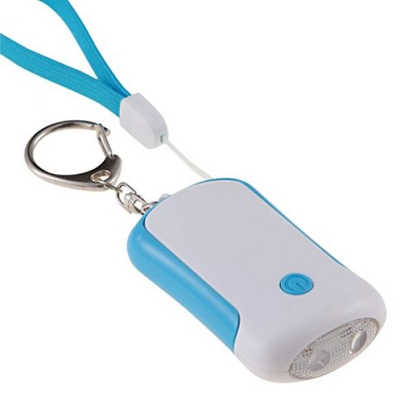 Guard Survival Alarm 1 Guard 125dB Personal Alarm with LED flashlight, Self Defense Keychain, survival whistle for Rape/Jogger/Women/Kids/Ederly Emergency