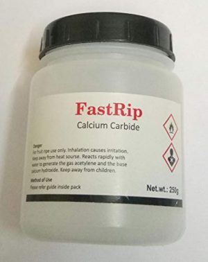 EXS  1 Calcium Carbide (Miner's Lamp) - 50g in 60cc bottle