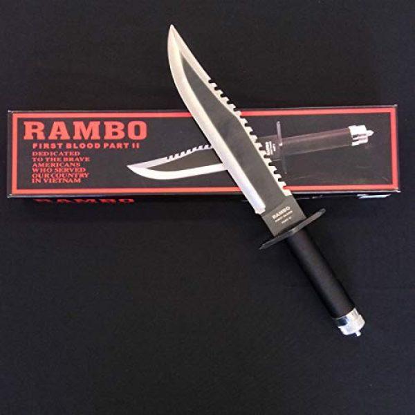 RealFireNSteel Fixed Blade Survival Knife 1 RealFireNSteel Rambo II - John Rambo's First Blood Part II Knife