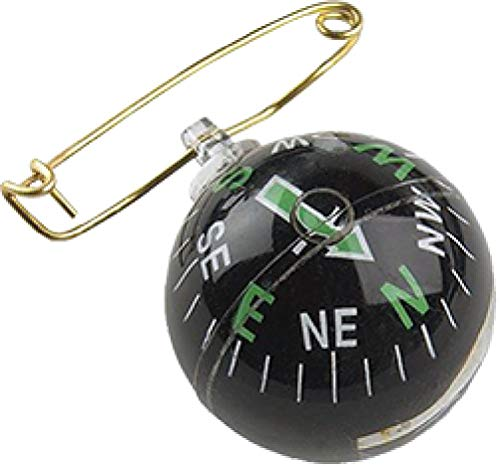 Allen Company  1 Allen Liquid-Filled Ball Compass with Pin