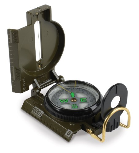 Stansport  1 Stansport Lensatic Marching Compass