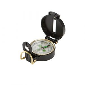 Allen Company Survival Compass 1 Allen Lensatic Compass with Luminous Dial