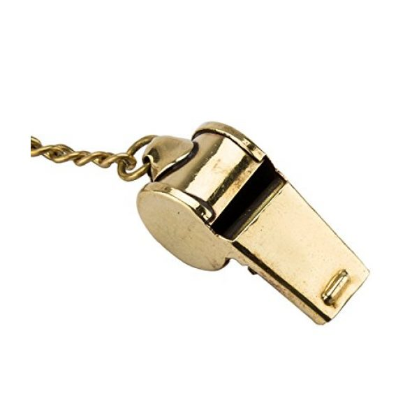 Brass Blessing Survival Whistle 1 Nautical Solid Brass Small Whistle Key Chain from Brass Blessing (17)