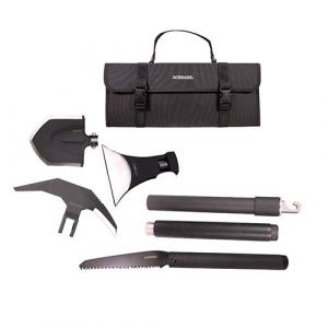 Schrade Survival Kit 1 Schrade SCHEXC Outdoor Survival Kit with Expandable, Interchangeable Tool System for Emergency, Camping, Hiking and Outdoors
