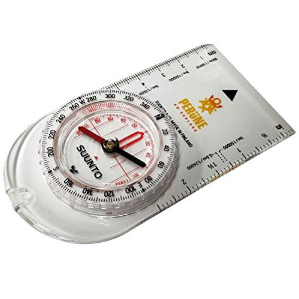 SUUNTO Survival Compass 1 SUUNTO A-10 Recreational Field Compass (in Metric Perune White)