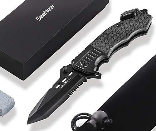 Seenew  1 Tactical Folding Knife - Escape Pocket Knife
