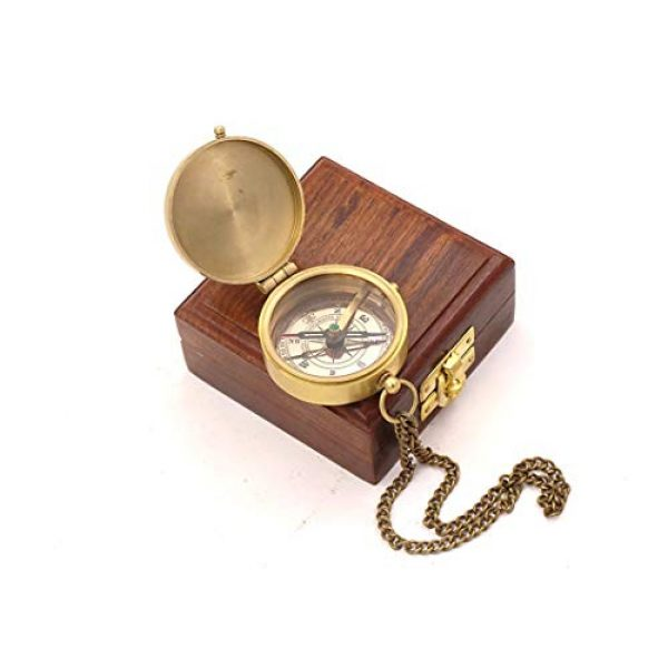 Roorkee Instruments India Survival Compass 3 RII for i Know The Planes I Have for You Compass with Wood Box,Jeremiah 29 11, Baptism Gifts, Gift for Him, Birthday, Fathers Day, Graduation Gift, Gift for Son