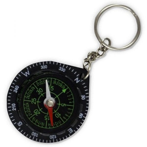 Fury Survival Compass 1 Fury Mustang Keychain Compass