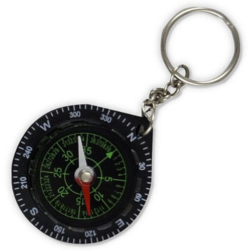 Fury  1 Fury Mustang Keychain Compass