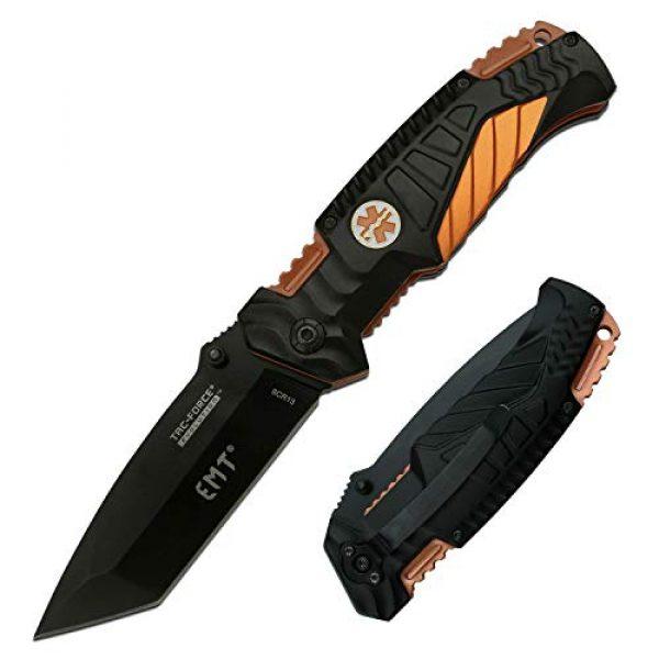 Tac Force Evolution Folding Survival Knife 1 Tac Force Evolution Spring Assisted Knife - TFE-A028T-EM