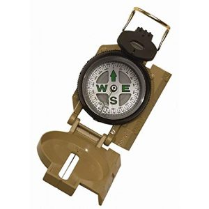Rothco Survival Compass 1 Rothco Military Marching Compass, Tan