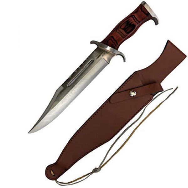 RealFireNSteel Fixed Blade Survival Knife 1 RealFireNSteel Rambo III - John Rambo's Survival Knife