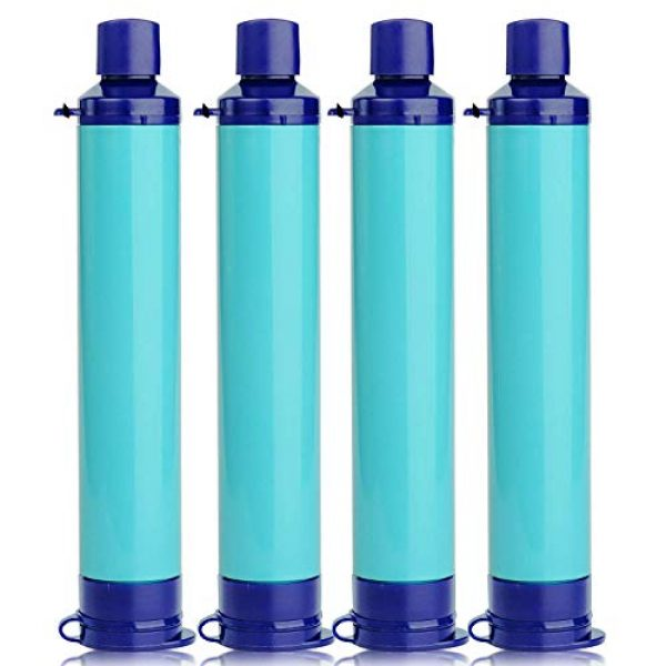 Anna's Bridal Survival Water Filter 2 Anna's Bridal Straw Water Filter, Hiking Water Purifier, Camping Straw Filter for Backpacking,Outdoor Water Filtration System Survival Gear for Camping Hiking Climbing and Emergency