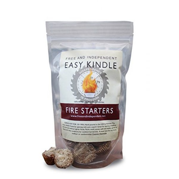 Free and Independent Survival Fire Starter 1 Free and Independent Easy Kindle Fire Starters