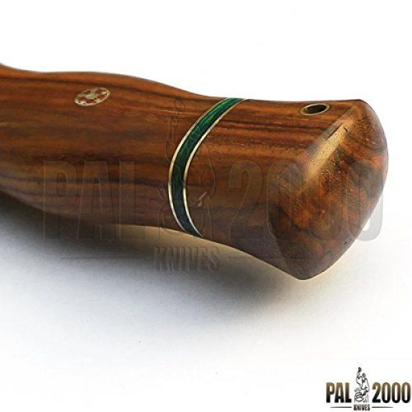 PAL 2000 KNIVES Fixed Blade Survival Knife 4 Custom Handmade Damascus Steel Hunting Kukri Knife -Sword/Chef Kitchen Knife/Dagger/Full Tang/Skinner/Axe/Billet/Cleaver/Bar/Folding Knife/Kukri/knife accessories/survival/Camping With Sheath 9106