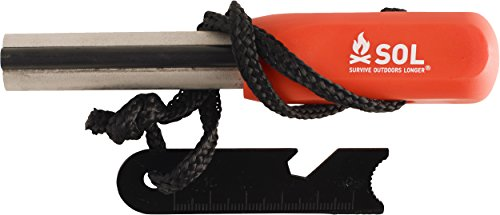 S.O.L. Survive Outdoors Longer Survival Fire Starter 1 S.O.L. Survive Outdoors Longer S.O.L. Mag Striker Fire Starting Tool