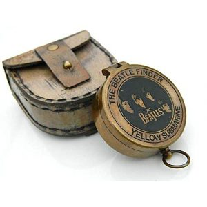 Roorkee Instruments India Survival Compass 1 Roorkee Instruments India Yellow Submarine Poem Compass Beatles Finder Face Compass W/Case