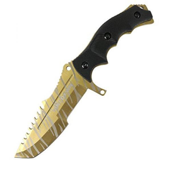 HUNT-DOWN Fixed Blade Survival Knife 1 HUNT-DOWN New Mini CSGO Huntsman Fixed Blade Hunting Knife Bowie Survival CS:GO Combat