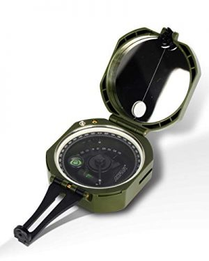 AOFAR  1 AOFAR AF-M2-B Military Compass Lensatic Sighting-Multifunctional