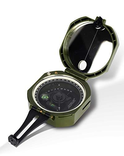 AOFAR  1 AOFAR AF-M2-B Military Compass Lensatic Sighting-Multifunctional