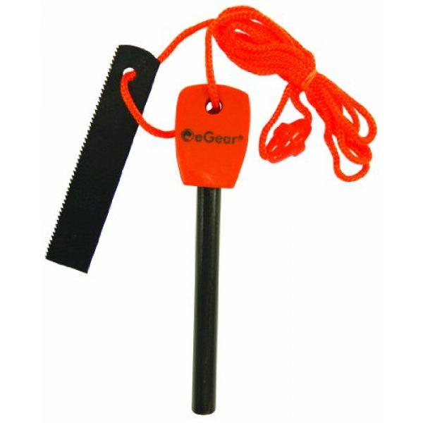 eGear Survival Essentials Survival Fire Starter 1 eGear Survival Essentials Flint Fire Starter with Striker