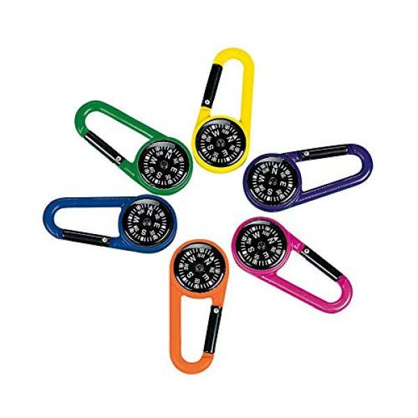 Fun Express Survival Compass 1 Fun Express Compass Clip (12 Pack)