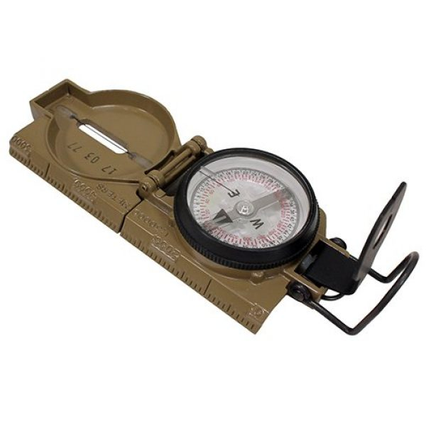 Cammenga Survival Compass 1 Cammenga Lensatic Compass Gunsmitthing Tool, Coyote Brown