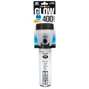 Life Gear  1 Life Gear Mini LED Flashlight with Glow Handle