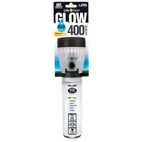 Life Gear  1 Life Gear Mini LED Flashlight with Glow Handle