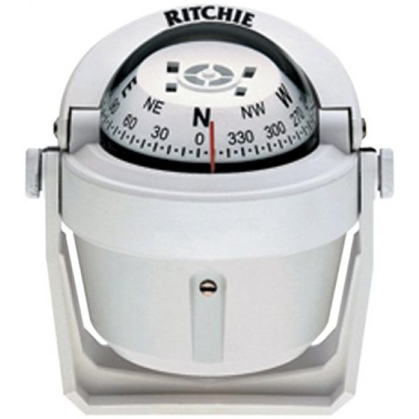 Ritchie Navigation Survival Compass 1 Ritchie Navigation Explorer Compass (White)