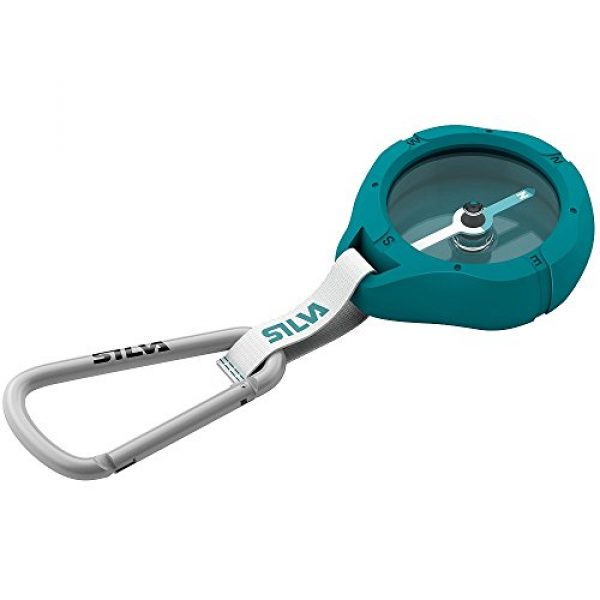 Relags Survival Compass 1 Relags Unisex_Adult Silva Kompass 'Metro' Compass, Blue, Standard Size