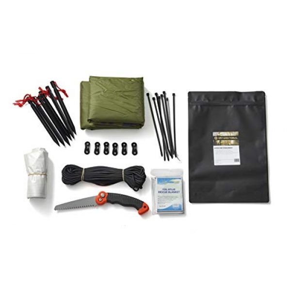 Stanford Outdoor Supply Survival Kit 5 Stanford Outdoor Supply Shelter B.O.S.S. Bug Out Bag Survival Kit