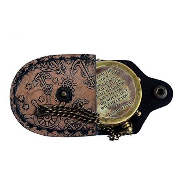 MAH Survival Compass 1 MAH for I AM The Lord, Your GOD. , Camping Compass Engraved with Gift Compass C-3116