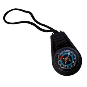 Type-III Products  1 Type-III 5pc Liquid Filled Zipper Pull Compass Set for Paracord Projects or Bug-Out Bags (2nd Gen)