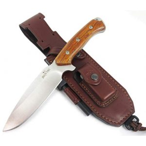 JEO-TEC Fixed Blade Survival Knife 1 JEO-TEC N15 Bushcraft Survival Hunting Knife - BOHLER N690C Stainless Steel, Multi-positioned Sheath - Handmade