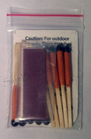 UCO Survival Fire Starter 1 UCO Survival Wind Waterproof Matches 10ct