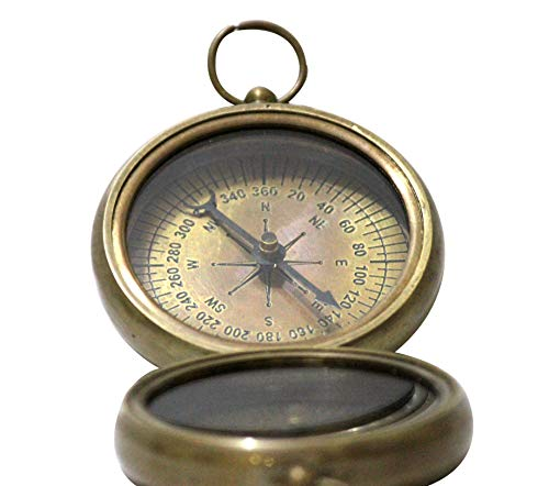 collectiblesBuy  1 collectiblesBuy Nautical Vintage Antique Finish Compass