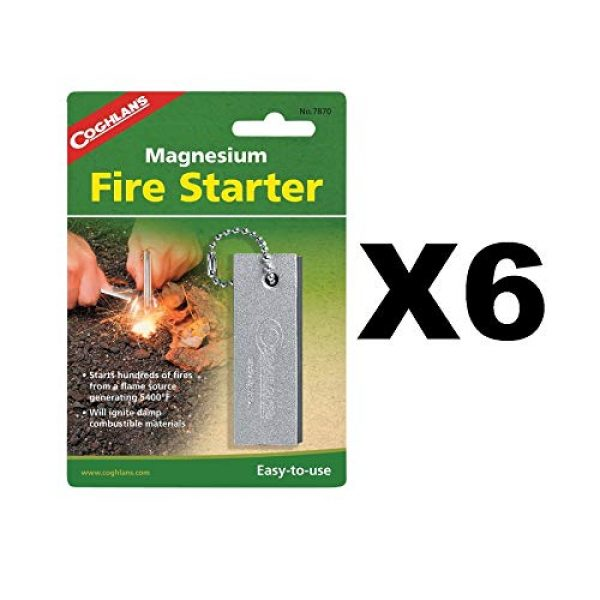 Coghlan's Survival Fire Starter 1 Coghlan's Magnesium Fire Starter