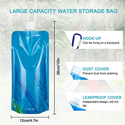 Portable Water Purifier Lightweight for Hiking Camping Survival Outdoor Backpacking Traveling Emergencywith case