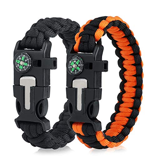 WEREWOLVES  1 WEREWOLVES Survival Paracord Bracelets