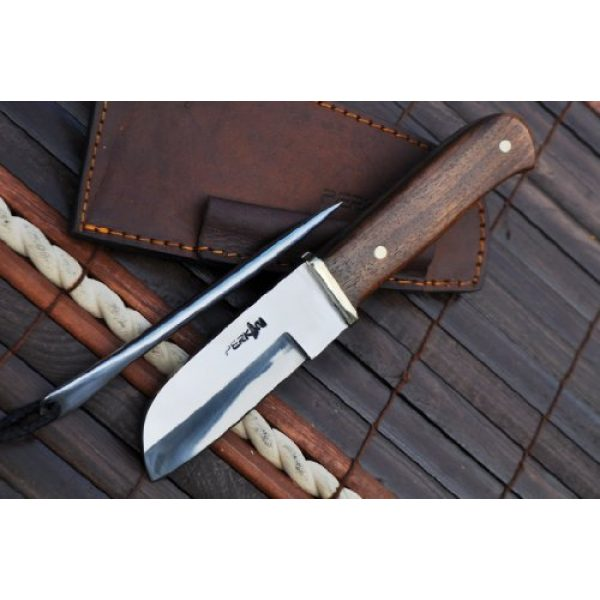 Perkin Fixed Blade Survival Knife 5 Perkin Knives- Handcrafted Hunting Knife 440c Steel | Rigging Knife