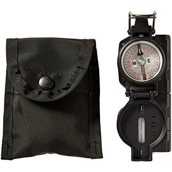 Cammenga Survival Compass 1 Cammenga S.W.A.T. Tritium Lensatic Compass, Black, Clam Pack