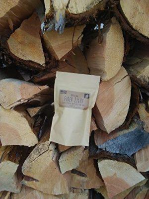 Fiber Light Fire Starters  1 Fiber Light Natural Wood Fiber Fire Tinder Refill Bag