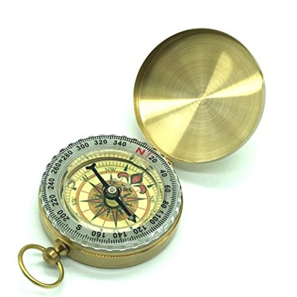 JDYYICZ Survival Compass 1 JDYYICZ Classic Pocket Style Multifunction Camping Compass