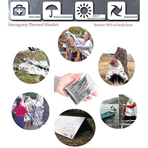 GOGOMY Survival Kit 4 Gogomy Emergency Survival Kits 13 in 1 - Camping, Hiking & Climbing Survival Kits Tools