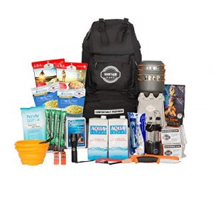 Sustain Supply Co. Survival Kit 1 Sustain Supply Co. Premium Emergency Survival Bag/Kit - Be Equipped with 72 Hours of Disaster Preparedness Supplies for 2 People, Comfort2