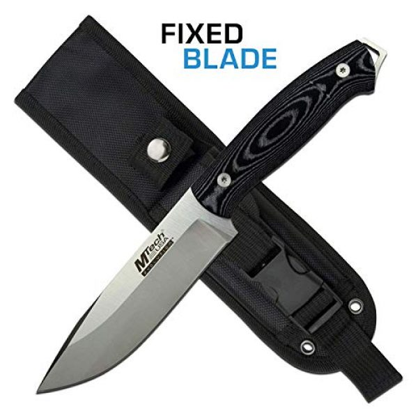 MTECH USA EVOLUTION Fixed Blade Survival Knife 1 MTech Evolution Fixed Blade Knife - MTE-FIX008-L
