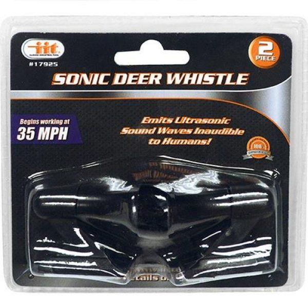 IIT Survival Whistle 1 IIT 17925 Sonic Deer Whistle 2Piece,