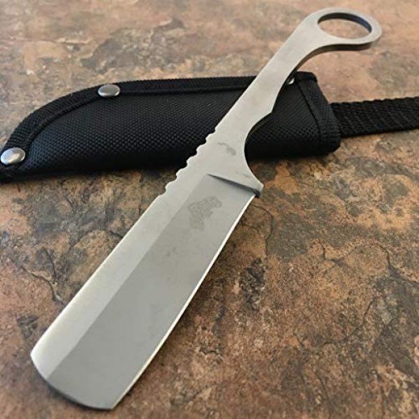 New Straight Fixed Blade Survival Knife 1 New Straight Edge Razor Fixed Blade Damascus Cleaver TANTO Hunting iCareYou Knife Karambit