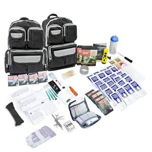 Emergency Zone Survival Kit 1 Emergency Zone 4 Person Urban Survival 72-Hour Bug Out/Go Bag | Perfect Way to Prepare Your Family | Be Ready for Disasters Like Hurricanes, Earthquake, Wildfire, Floods